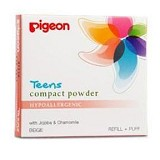 PIGEON Refill Compact Powder Hypoallergenic 14gr [PR080228] - Beige - Make-Up Powder
